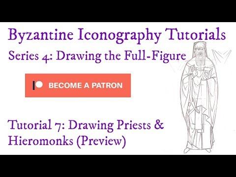S4T7 Drawing Priests And Hieromonks (St Amphilochios Of Patmos) (Preview)