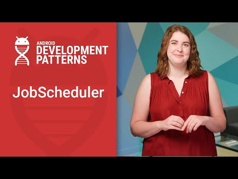 Background work with JobScheduler (Android Development Patterns S3 Ep 12)