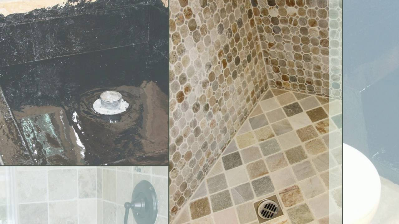 How To Hot Mop A Shower Pan   Best Ever Waterproofing