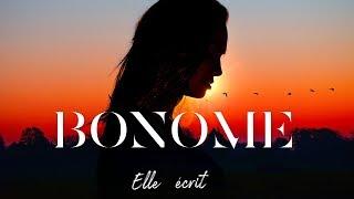 BONOME - Elle écrit | Lyrics Video