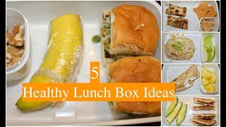 Kids Lunch Box Ideas (Part 3) | Indian Healthy Lunch Box Recipes | Quick  Lunch Box Ideas