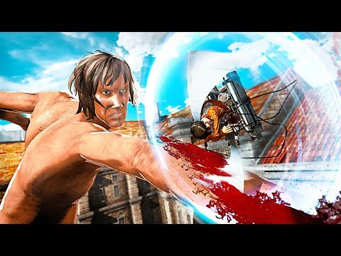 ATTACK ON TITAN 2 Action Trailer (2017) PS4 / Xbox One / Switch /PC