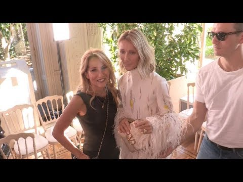 Celine Dion at Valentino Fashion Show in Paris
