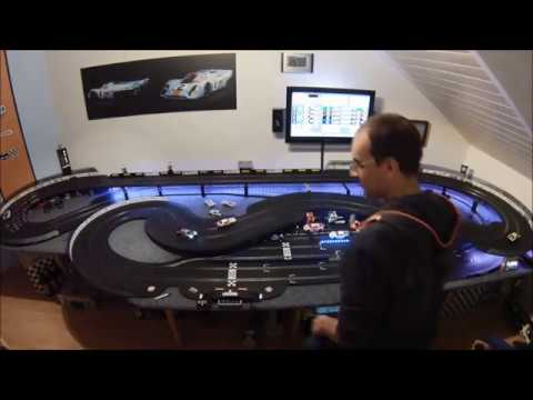 GTR Slotracing – Race 3 – 10 Min. Sprint – Carrera D132 vs. Scalextric – 15.03.18