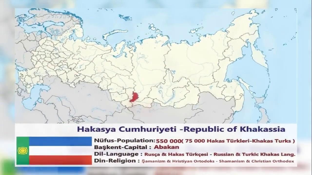 Khakassia: gezi. Khakassia Cumhuriyeti