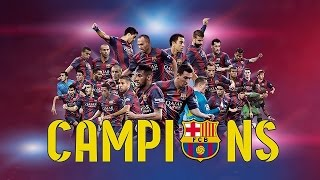 FC Barcelona, UEFA Champions League Winners 2015 (ENG)