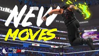 WWE 2K19 Amazing New Moves & Animations