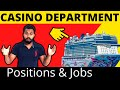 Casino Jobs & Positions on Cruise Ships