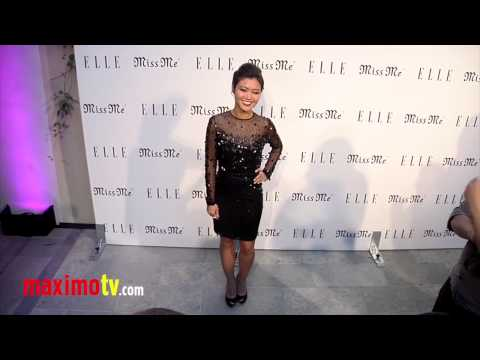 Jessica Lu at ELLE and Miss Me Album Release Party ARRIVALS