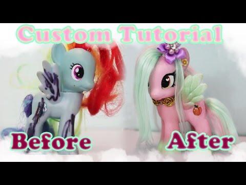 TRANSFORMATION! My Little Pony Custom...