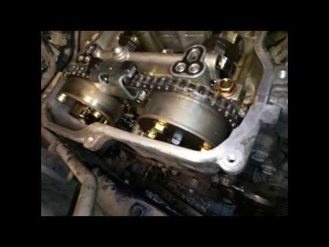 Замена цепи ГРМ Toyota Corolla 150 {1ZR-FE}