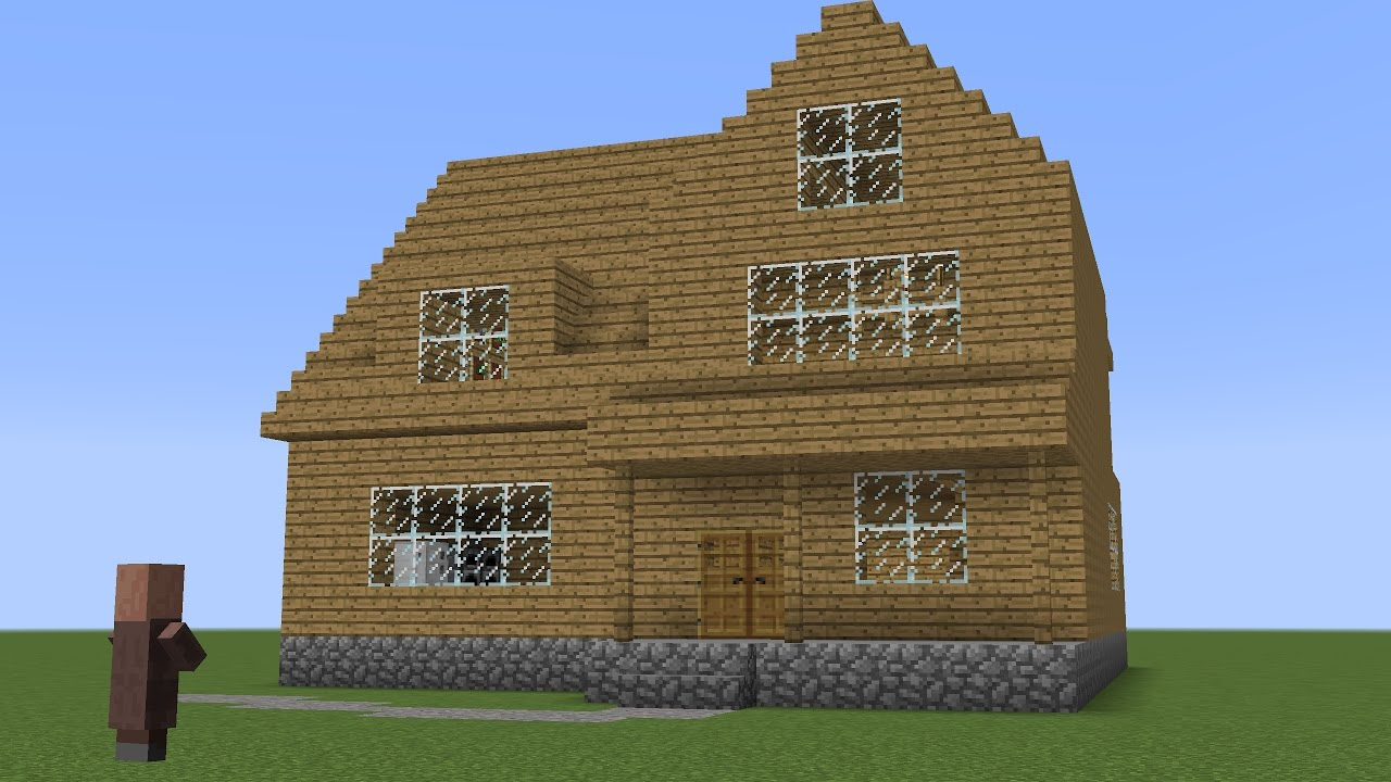 Minecraft - How to build a classic villager house