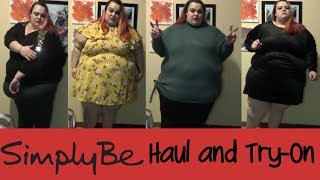 Simply Be Haul and Try-On | Sweaters Galore