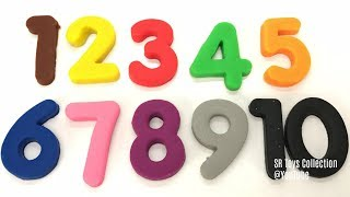 Learn Colours and Numbers with Play Doh Ducks Fun and Creative Educational Video for Baby and Kids
