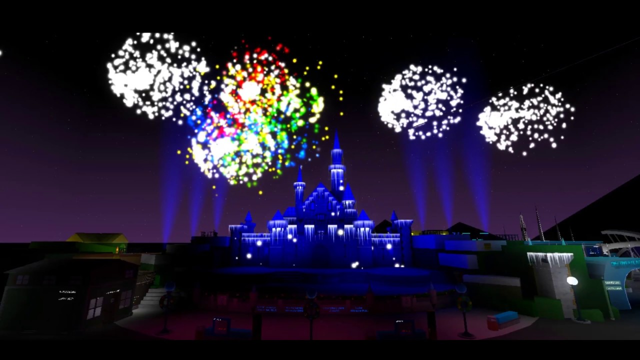 Believe In Christmas Magic Fireworks Full Show Roblox - casey jr roblox