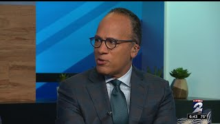 NBC's Lester Holt visits Houston to kick off 'Across America' series