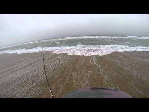 Light Surf Fishing - Wooli Beach, NSW