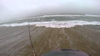 Light Surf Fishing - Wooli Beach, NSW