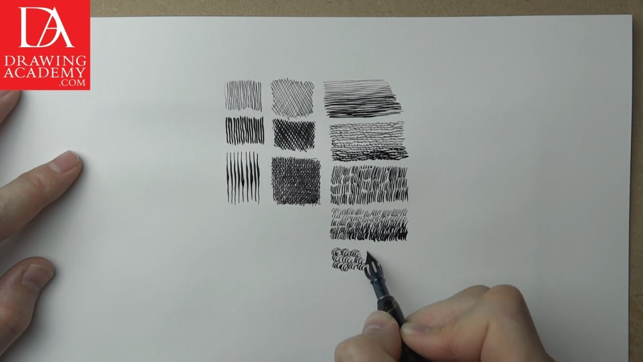 Pen and Ink Techniques presented by Drawing Academy .com 25-1 ...