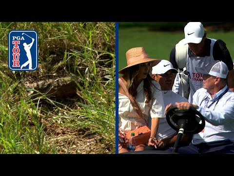 Brooks Koepka withdraws from TOUR Championship after hitting tree root