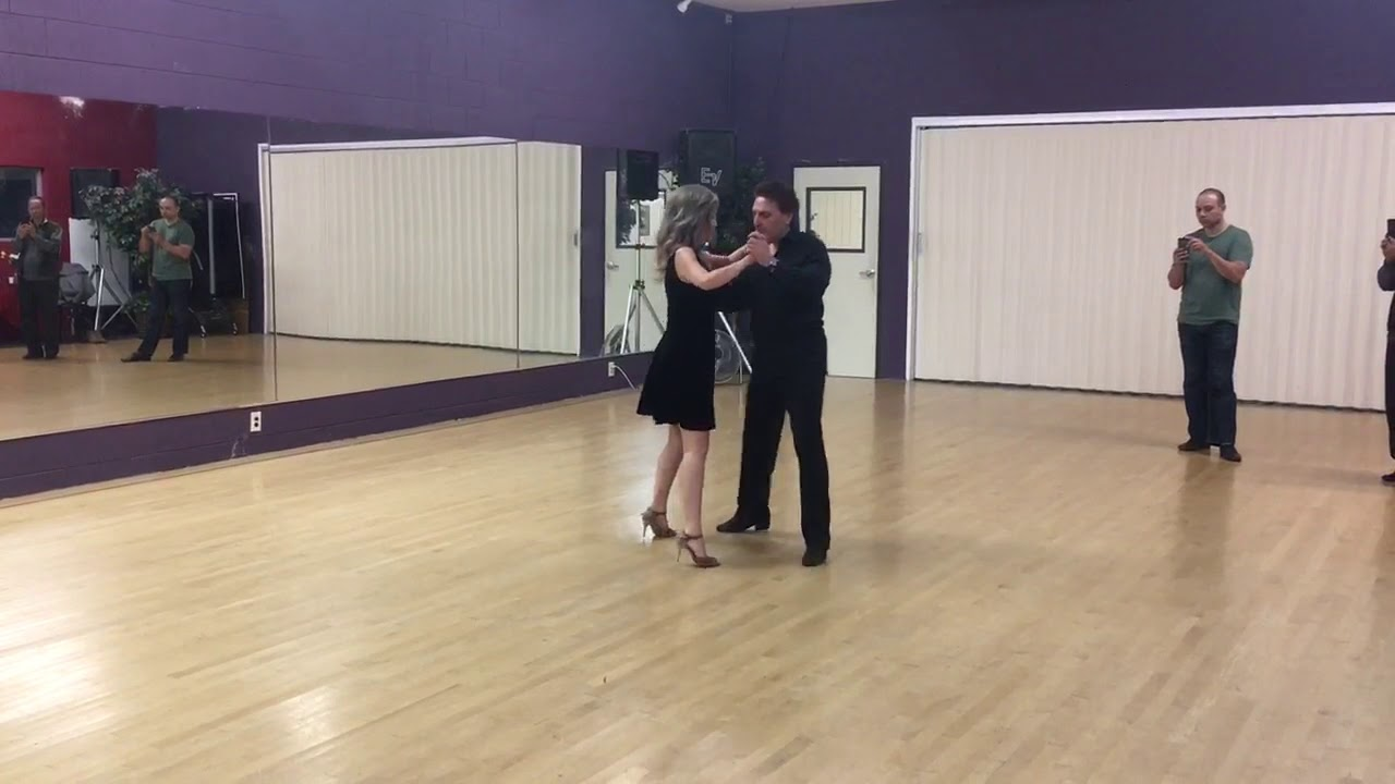 Argentine Tango steps sequence www.tangonation.com 2/4/2020 - YouTube