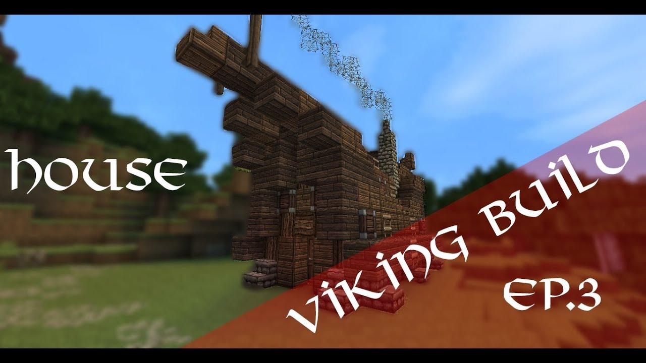 Minecraft Small Viking House TUTORIAL YouTube - Minecraft wikinger hauser