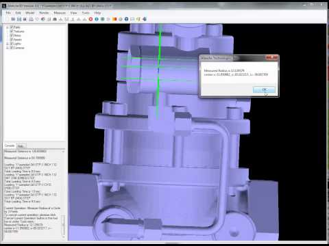 Using Afanche3D For 3D STEP Model Viewing And Analysis