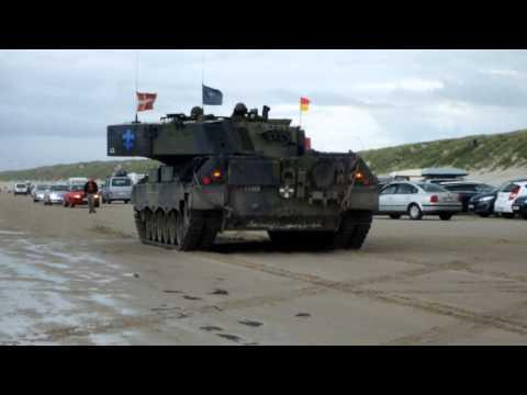 DK Vejers Strand Leopard1 Panzer 2012