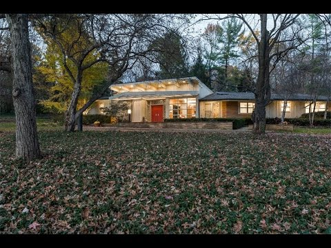 A Masterpiece of Mid-Century Modern Design in Indianapolis, Indiana