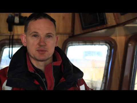 Meet the fisherman, David Stevens