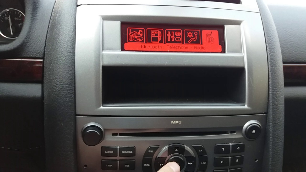 Peugeot 407 2008 1.6 hdi Bluetooth streming + usb + aux - Nomade v2