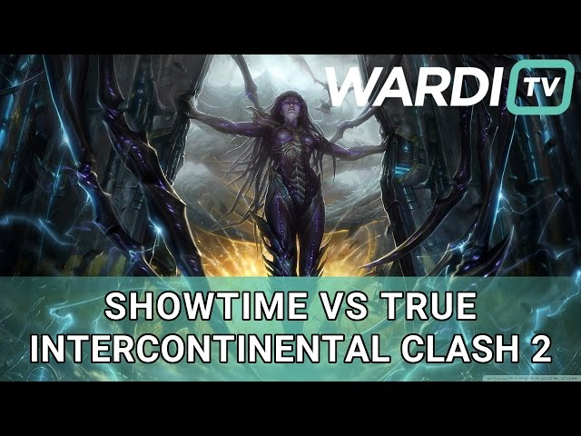 ShoWTimE vs TRUE - PvZ - Underdogs Intercontinental Clash #2 Playoffs