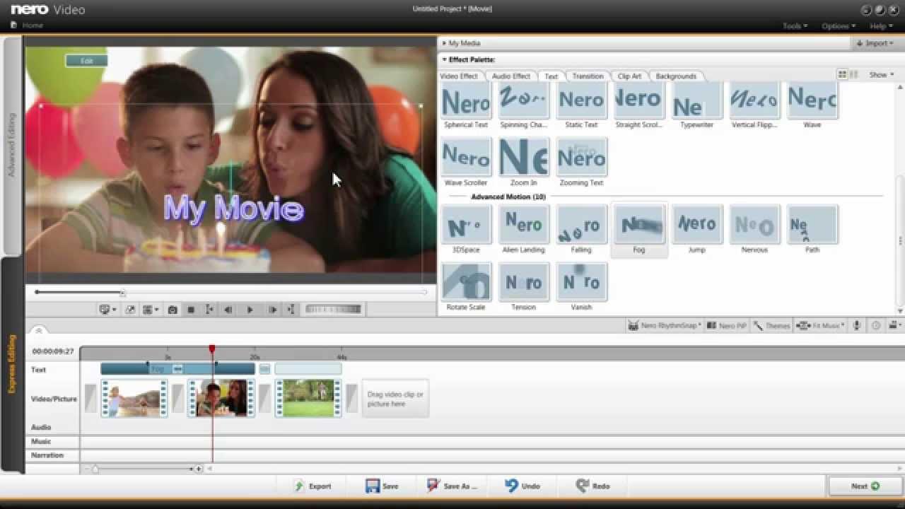 Nero video com
