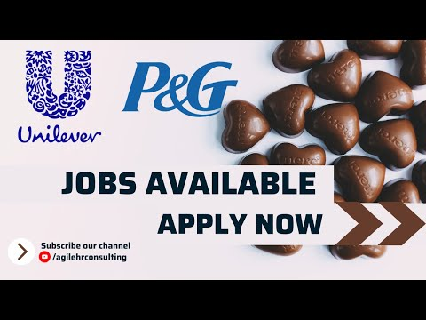 Jobs in P&G and Unilever