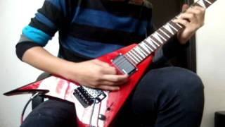 Children Of Bodom - Bed Of Razors (Guitar cover)(Hi everyone, This is my first cover with the song called bed of razors by Children Of Bodom. There are some errors, I'm not Laiho to do it perfect haha. Well., 2012-01-04T21:32:31.000Z)