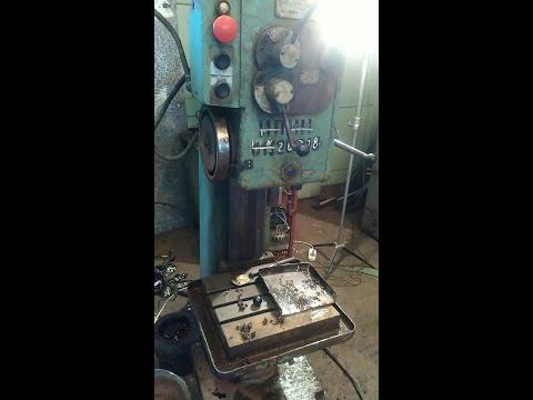 Восстановление, ремонт и обзор сверлильного станка 2Н118
