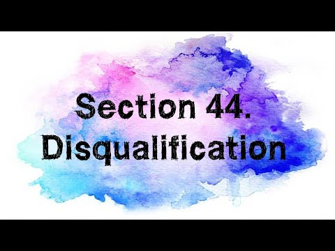 Section 44 Of The Australian Constitution