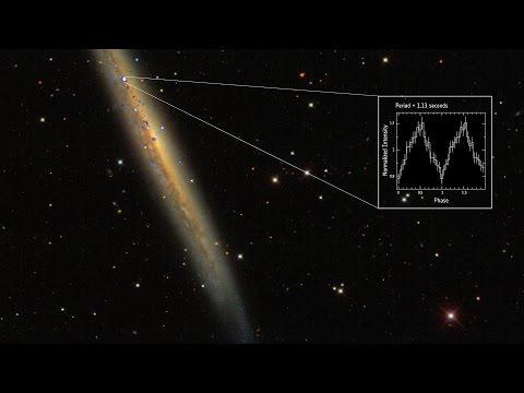 Captan el púlsar más intenso y lejano del Universo