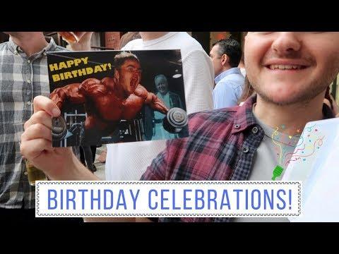 BIRTHDAY CELEBRATIONS! Vlog 53 | Charlotte Palmer Evans