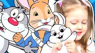 КРОЛИК ПИТЕР Амелька собирается в кинотеатр на мультик Хочет взять живого кролика Пушинку