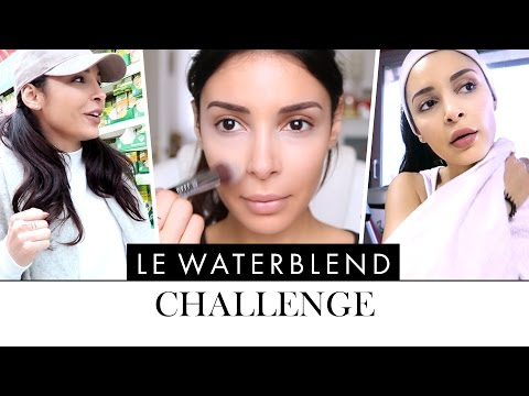 WATER BLEND CHALLENGE : ON A OSÉ ME DÉFIER ! 😎