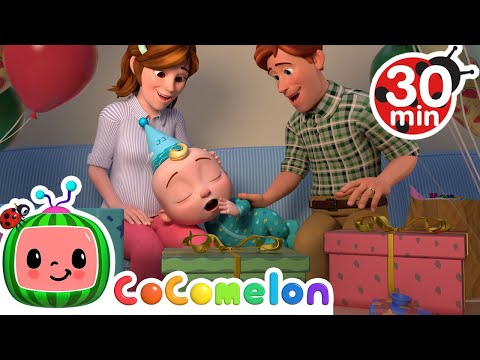 Night Before Birthday Song + More Nursery Rhymes & Kids Songs - CoComelon