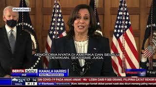 Wapres AS Kamala Harris Kutuk Kasus Rasisme Terhadap Suatu Etnis
