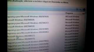 Como remover mensagen do windows pirata a atualização (KB971033)