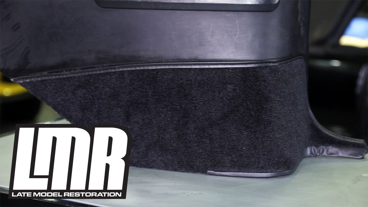 1983-1993 Fox Body Mustang Convertible Quarter Trim Carpet Install