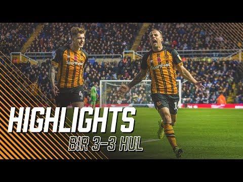 Birmingham City 3-3 Hull City | Highlights | Sky Bet Championship