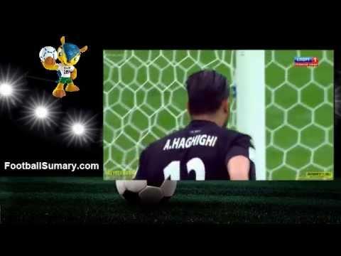 2014 World Cup Iran 0-0 Nigeria Highlights