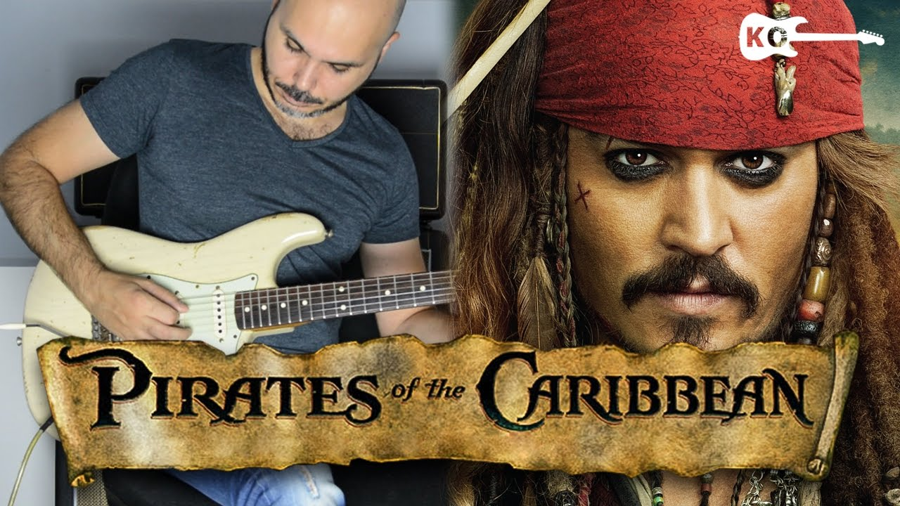 Download Pirates of the Caribbean Theme  - Electric Guitar Cover by Kfir Ochaion
