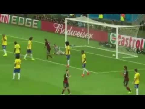 "Goal ""Andre Schürrle"" World Cup 2014 Brazil vs Germany 0 6 /// AMAZING"