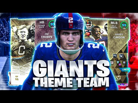 JIM THORPE DOES IT ALL!! GIANTS THEME TEAM. MADDEN 21 GAMEPLAY